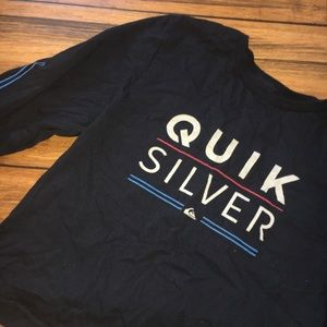 Quiksilver Cropped Long Sleeve Tee